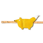 Eperfa leather belt bag fox, yellow