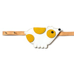 Eperfa leather belt bag bear, white