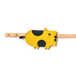Eperfa leather belt bag pig yellow