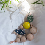 Eperfa wooden teether hedgehog, beech tree