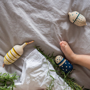 Eperfa wooden baby rattles