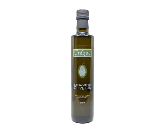 Unique Extra Virgin Olive Oil 500mL