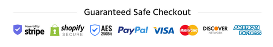 guaranteed checkout logo