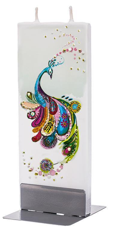 Artsy Peacock - Designer Candle Candles Flatyz