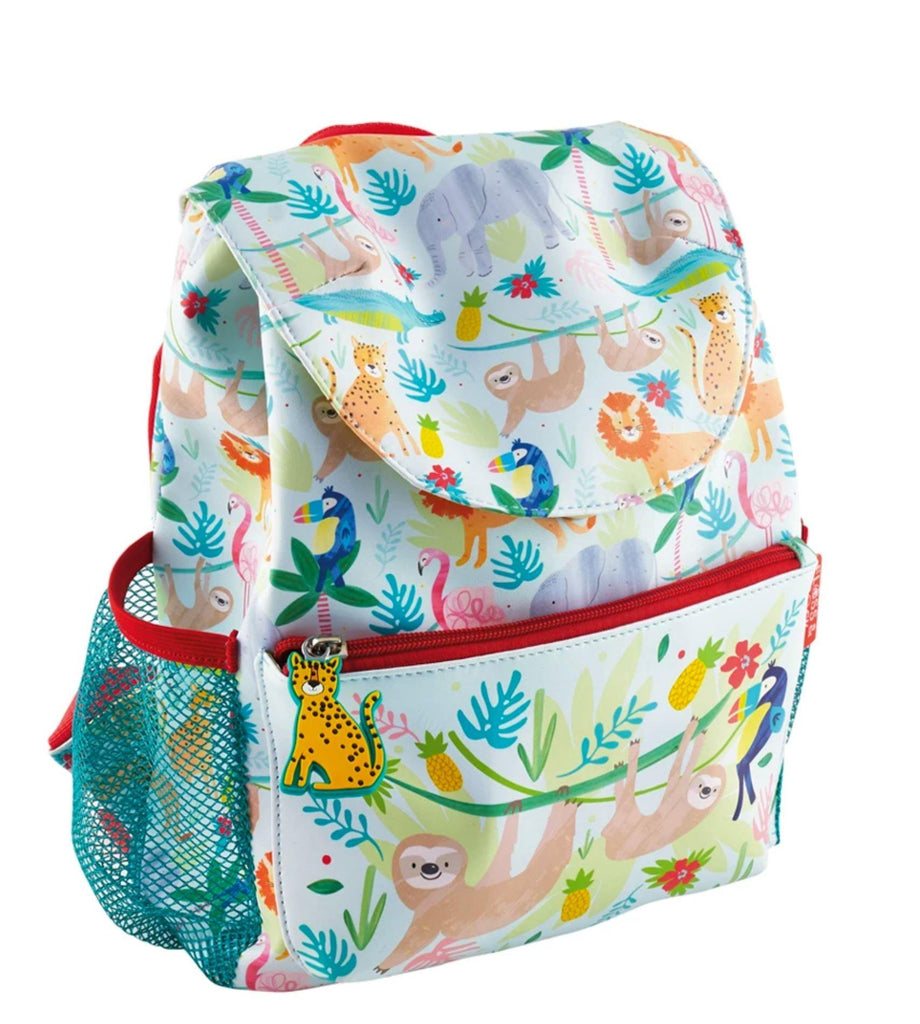 Backpack - Jungle Water Bottles Foxyavenue