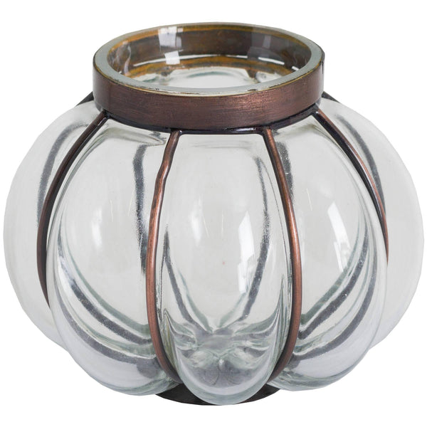 Blown Glass Candle Holder Trays Hill Interiors