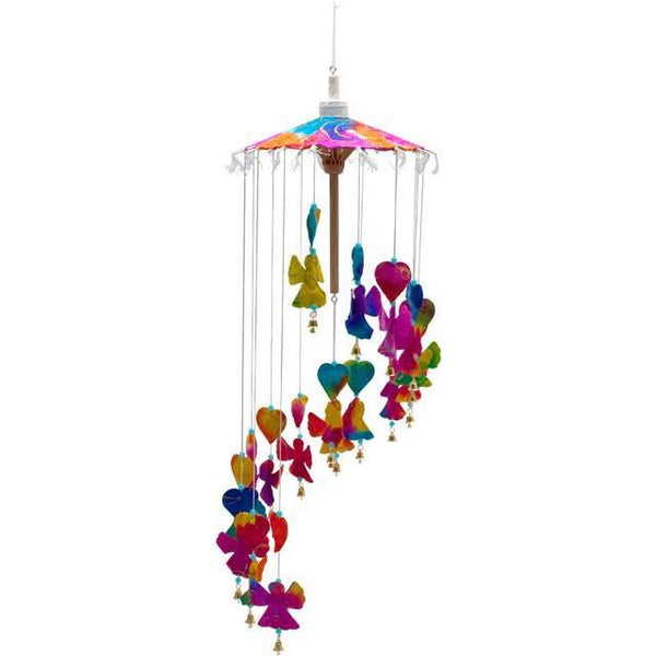 Colourful Angel Paper Mobile Hanging Mobiles Something Different