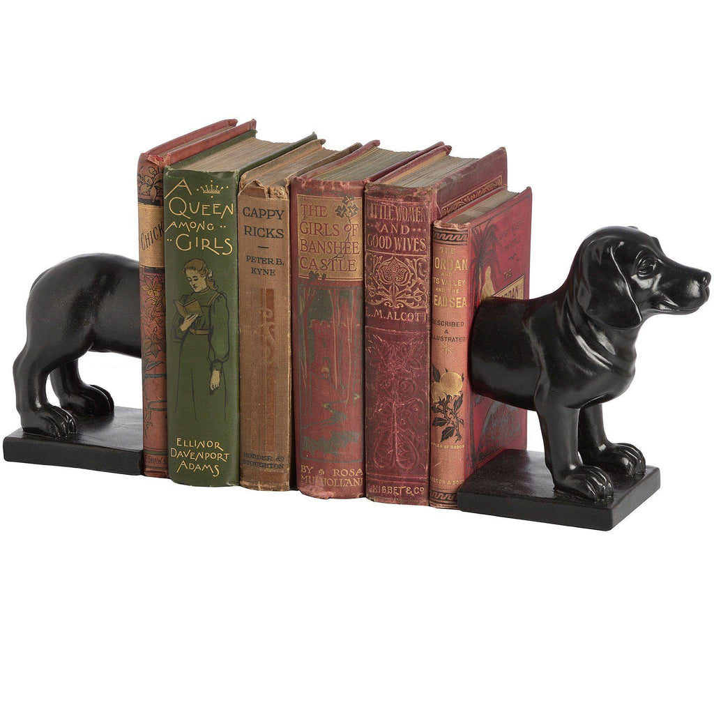 Dog Book Ends Trays Hill Interiors
