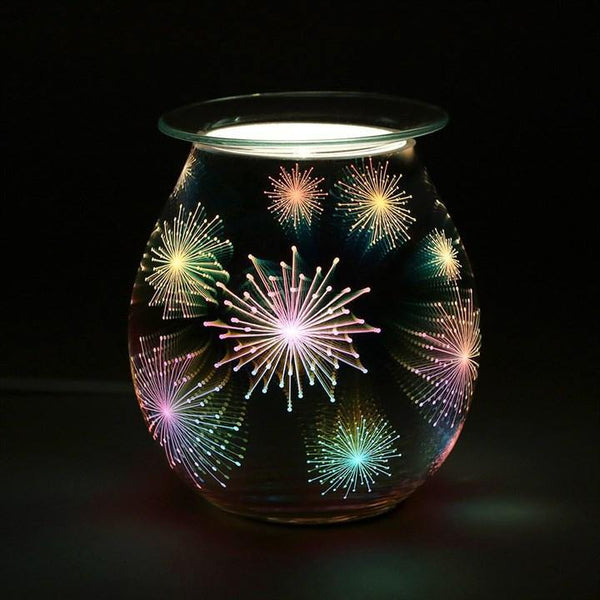 Firework Effect Light Up Electric Oil Burner Oil Burners Something Different