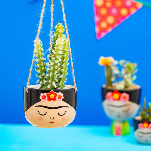 Frida Hanging Planter HomeDecor Sass & Belle