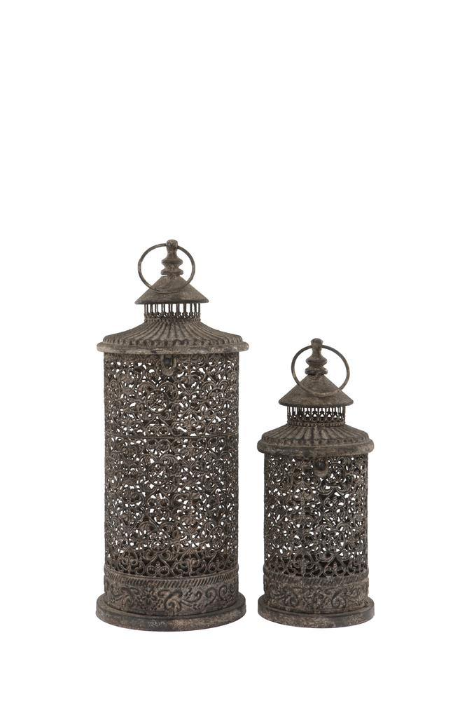 Lugano Lanterns Set of 2 FoxyAvenue