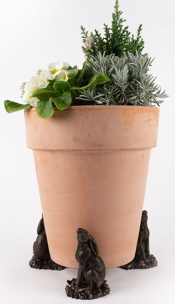 Moongazing Hare Planter Accessories Potty Feet
