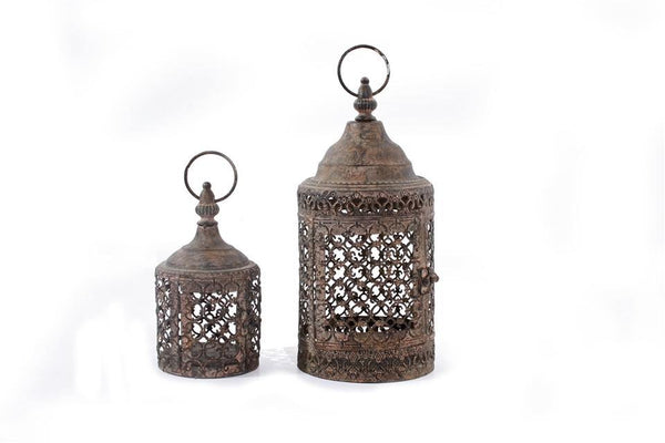 Moorish Lanterns Set of 2 FoxyAvenue