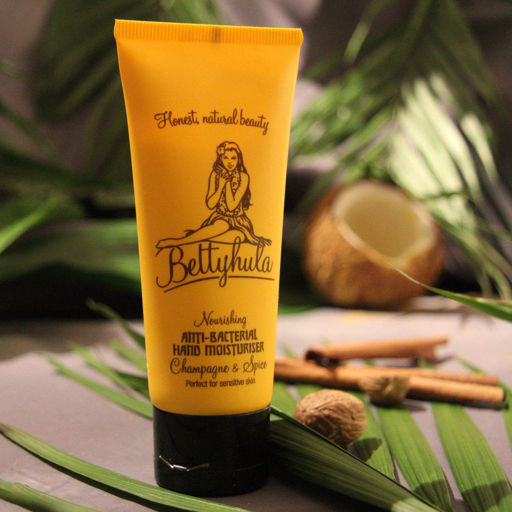 Nourishing Anti-bacterial hand cream - Champagne & Spice Hand Creams BettyHula