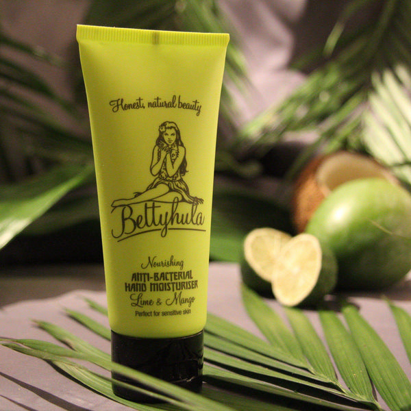 Nourishing Anti-bacterial hand cream - Lime & Mango Hand Creams BettyHula