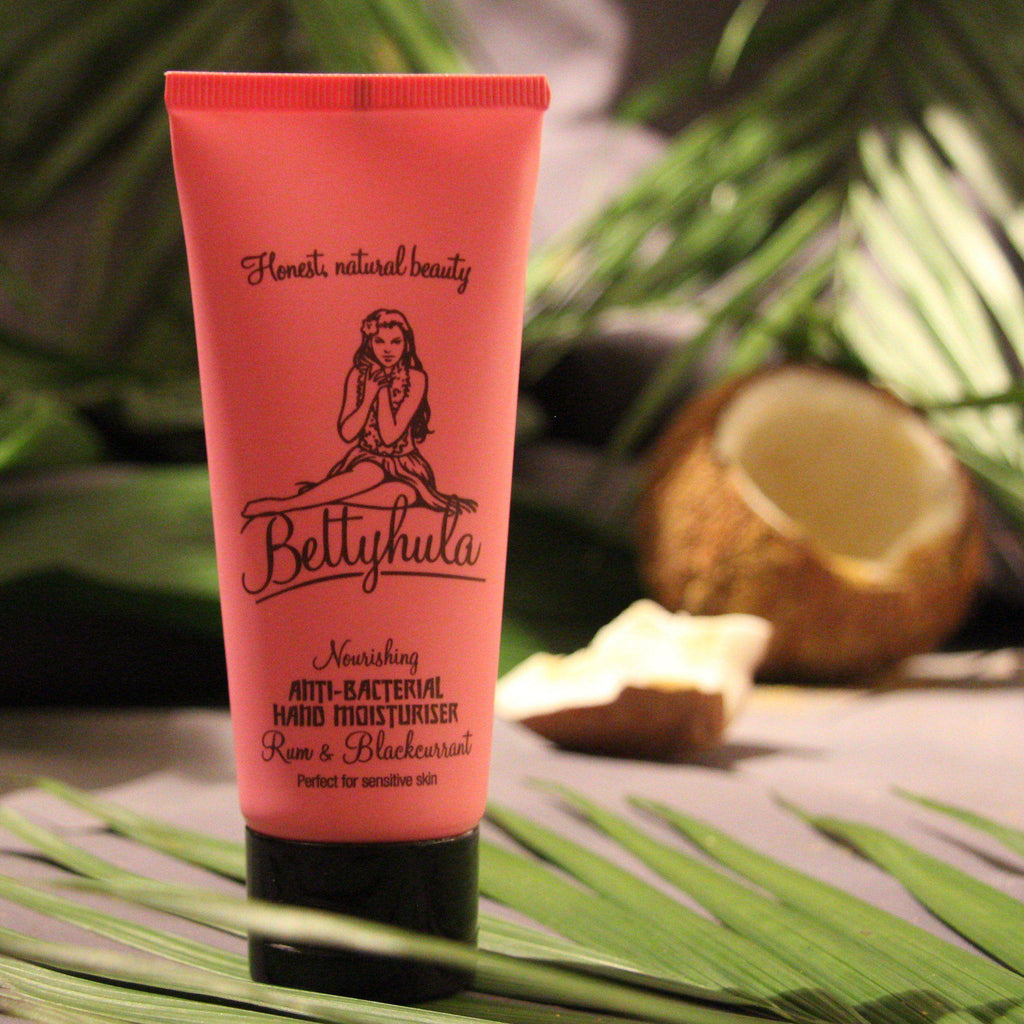 Nourishing Anti-bacterial hand cream - Rum & Blackcurrant Hand Creams BettyHula