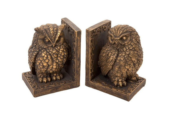 Owl Bookends Book Ends FoxyAvenue