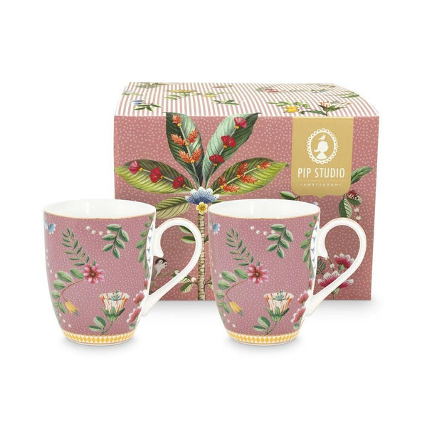 Pip Studio - La Majorelle Set/2 Large Mugs Cups PiP Studio