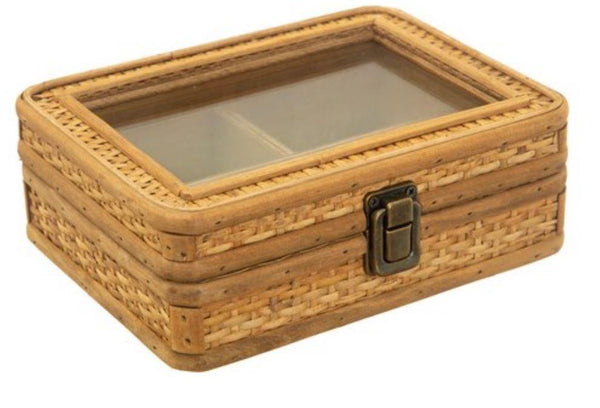 Rattan Jewellery Box Sass & Belle