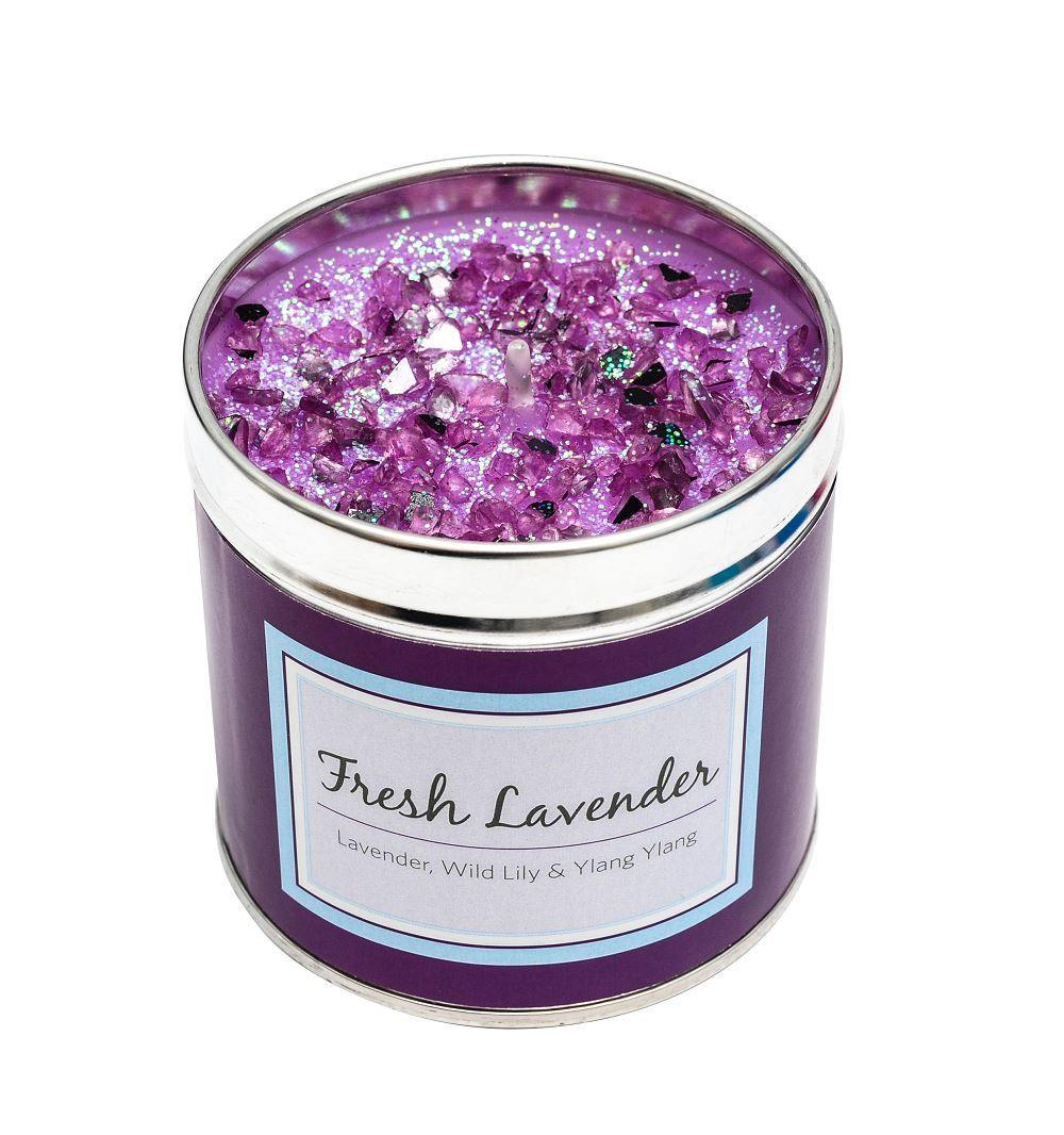 Seriously Scented Tin Candle Fresh Lavender Foxyavenue