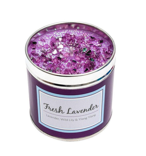 Seriously Scented Tin Candle - Fresh Lavender Candles Best Kept Secrets