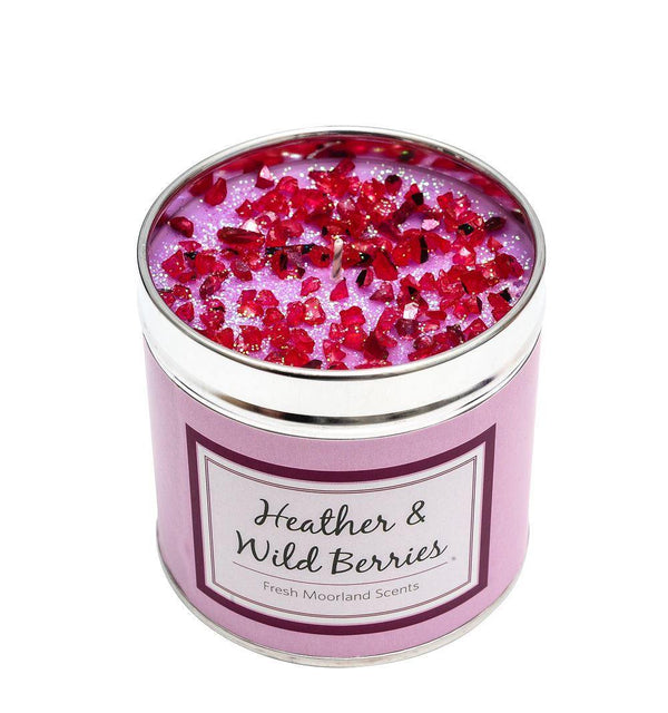 Seriously Scented Tin Candle - Heather and Wild Berries Candles Best Kept Secrets