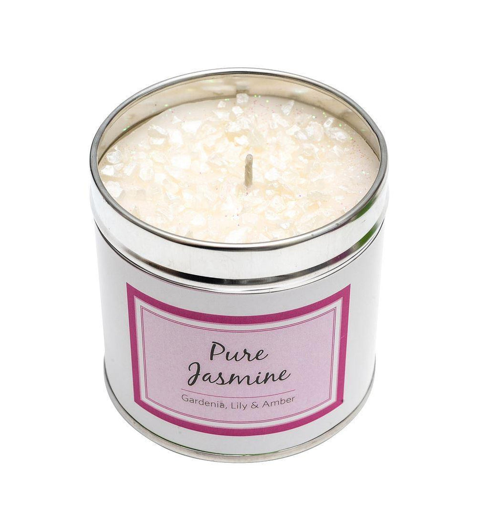 Seriously Scented Tin Candle - Pure Jasmine Candles Best Kept Secrets
