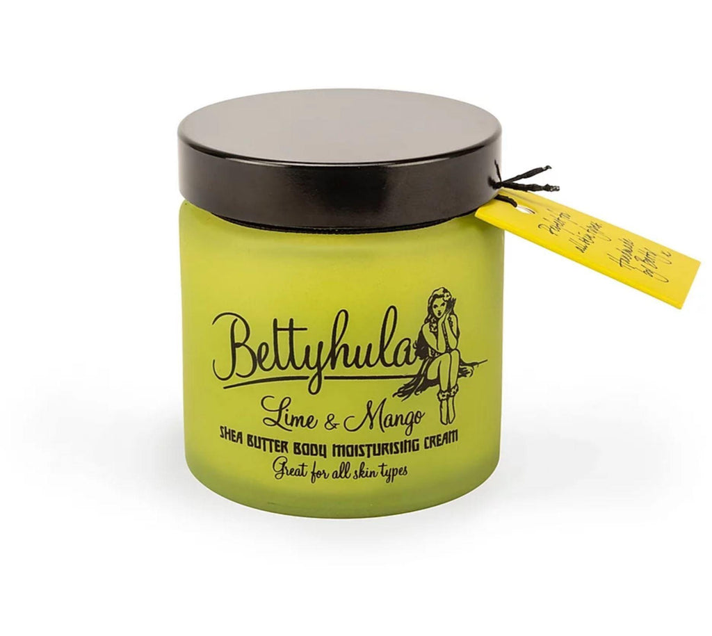 Shea Butter Body Moisturiser - Lime & Mango BodyButter BettyHula