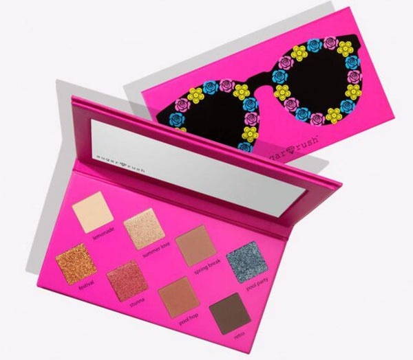 Sugar rush keep calm, sunnies on eyeshadow palette Makeup Tarte