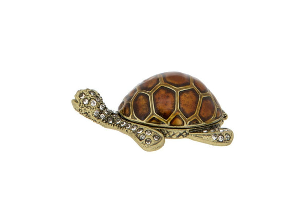 Turtle Trinket Box Trinket Boxes FoxyAvenue