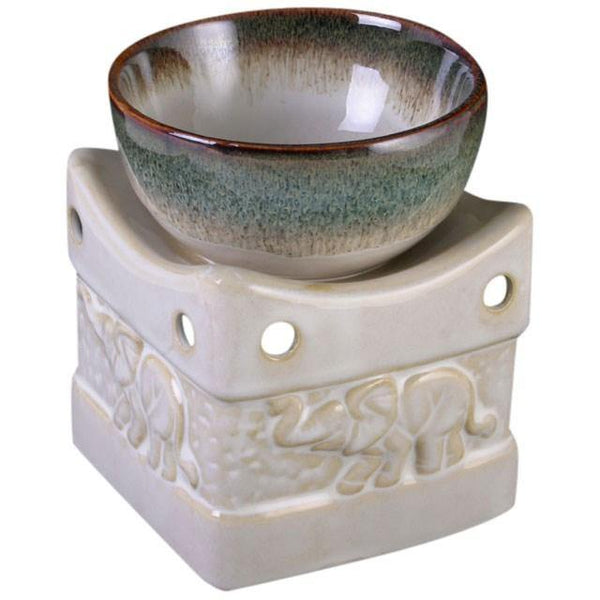 Two Tone Elephant Oil Burner Oil Burners Something Different