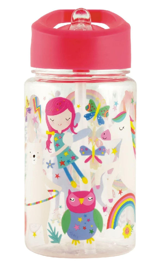 Water Bottle - Rainbow Fairy Water Bottles Foxyavenue
