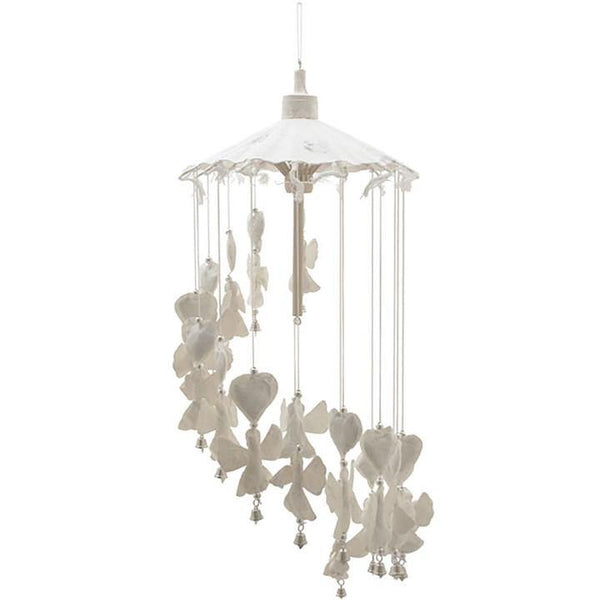White Angel Paper Mobile Hanging Mobiles Something Different