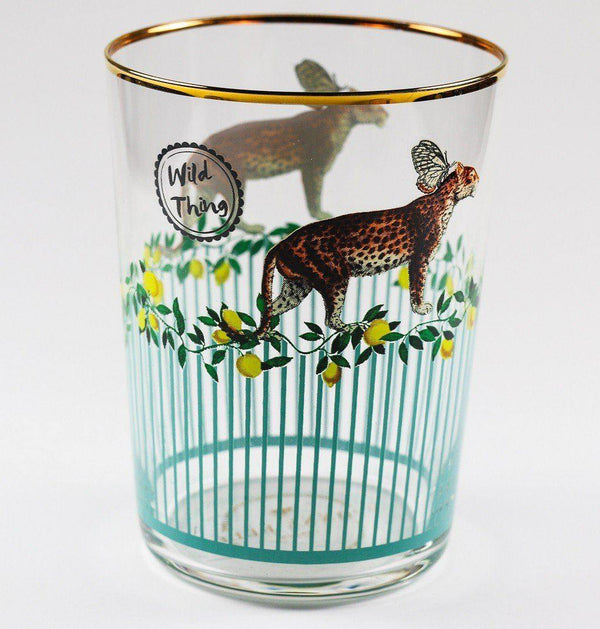 Yvonne Ellen Glasses - Cheetah - Set of 4 Glasses Yvonne Ellen