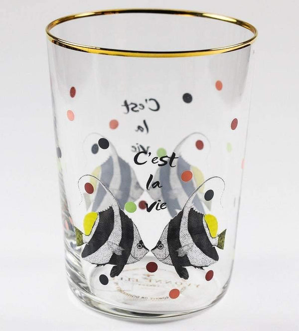 Yvonne Ellen Glasses - Fish - Set of 4 Glasses Yvonne Ellen
