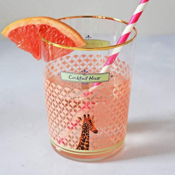 Yvonne Ellen Glasses - Giraffe - Set of 4 Infuser Yvonne Ellen