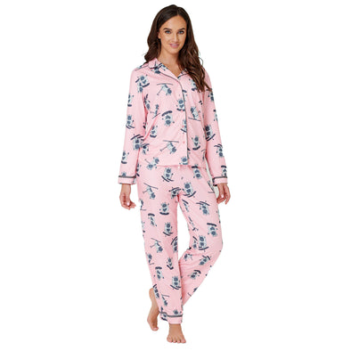 Skiing Yeti Traditional Pyjamas