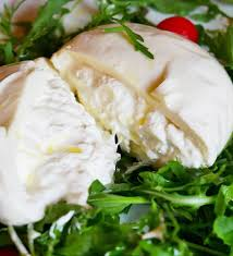 Grand Burrata - fromage Burrata classique - Burrata Cheese (100% Vegetarien)