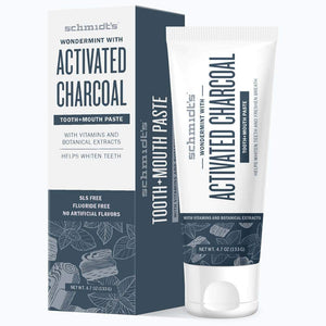 Activated Charcoal with Wondermint Tooth + Mouth Paste