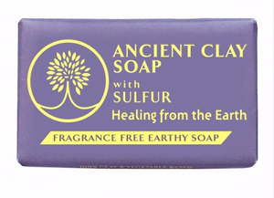 Zion Health Ancient Clay Soap Sulfur