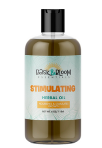 Bask & Bloom Stimulating Hair Oil