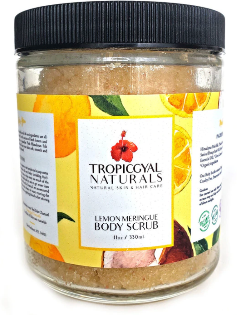 Trpoicalgyal Naturals Lemon Meringue Body Scrub