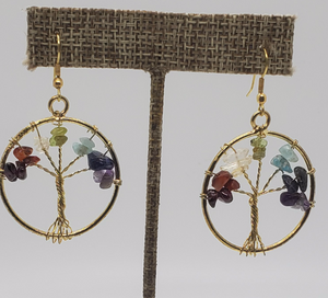 Tree of Life Earring Circle