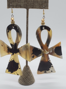 Spattered Marble Earrings