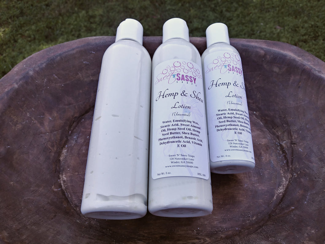 Hemp & Shea Lotion