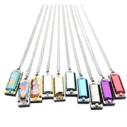 8-Tone Mini Harmonica Necklace With 4 Hole