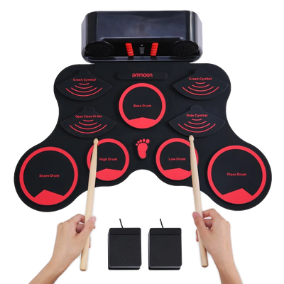 Digital Roll-Up Drum Set
