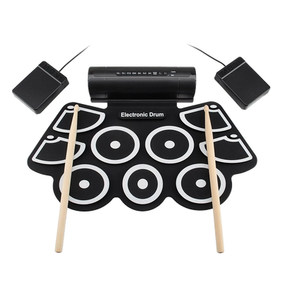 Electronic Roll Up Drum Set