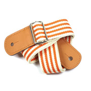 playlimba,Adjustable Orange Stripes Ukulele Strap,PlayLimba™,Accessories