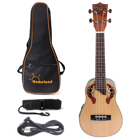 playlimba,Aquila Strings Ukulele With Built-In EQ Bracket,PlayLimba™,Ukulele 2